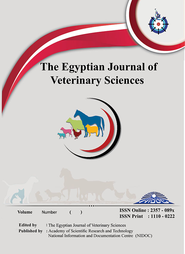 Egyptian Journal of Veterinary Sciences